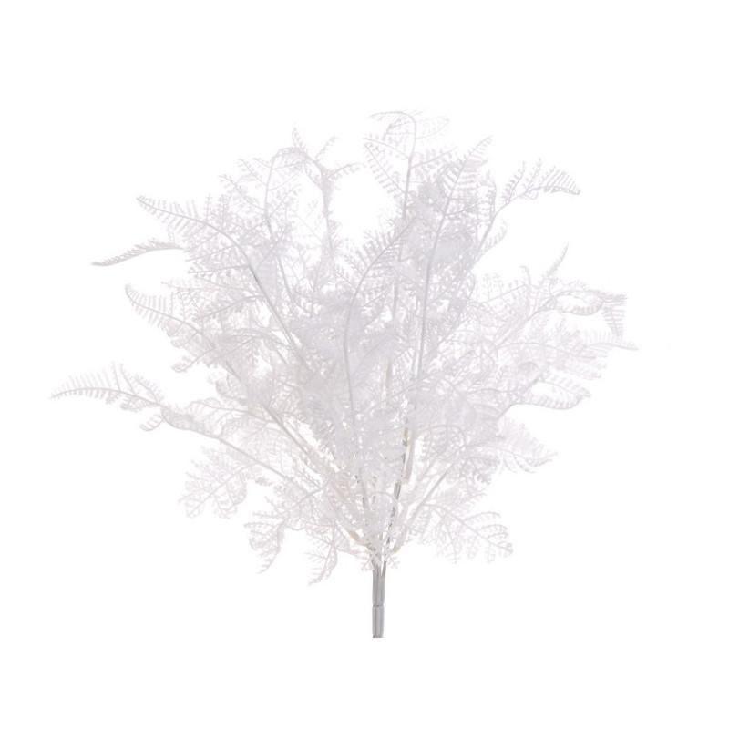Gałązka x7 -sztuczna roślina WHITE