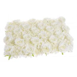 Mata dekoracyjna hortensja + róża 40x60 cm