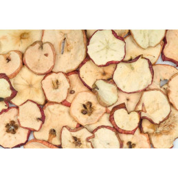 Apple sliced red painted 200 g - sSu