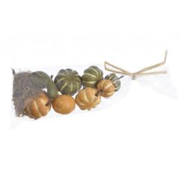 Dynie sztuczne 2,5-5 cm 8szt-paczka