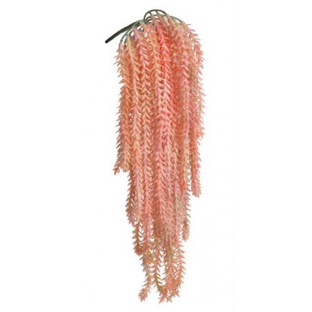 Grubosz widełkowaty zwis BROKAT 50 cm - sztuczna roślina