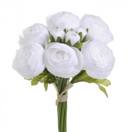 Ranunculus duży x 9 bukiet 25 cm