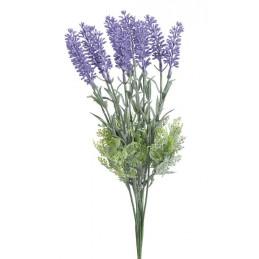 Pik lawenda, 35 cm 12szt/pęczek - sztuczna roślina
