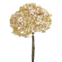 Bukiet hortensji 35 cm - kolory jesienne