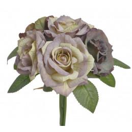 Bukiet róż x5 23 cm - kwiaty jesienne