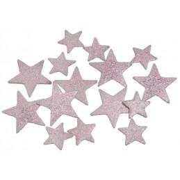 Gwiazdka płaska F3,5-5,5 cm 60sztuk/paczka MIX kOLORÓW
