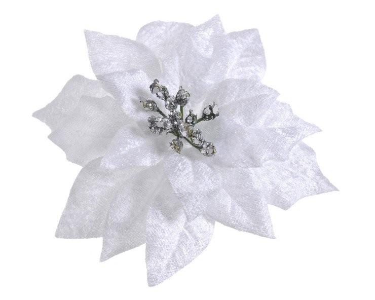 white-silver glitter centre