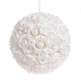 Kula z róż piankowych 28 cm -zawieszka