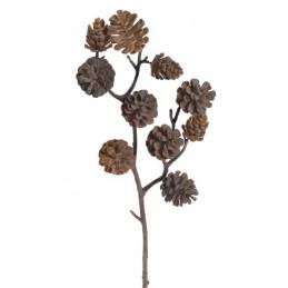 Gałązka z szyszkami..47 cm - sztuczna roślina