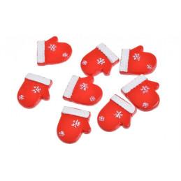 Nalepki rękawiczki 8szt-kpl..2,5 cm