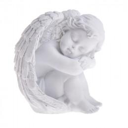Zamyślony aniołek 12 cm