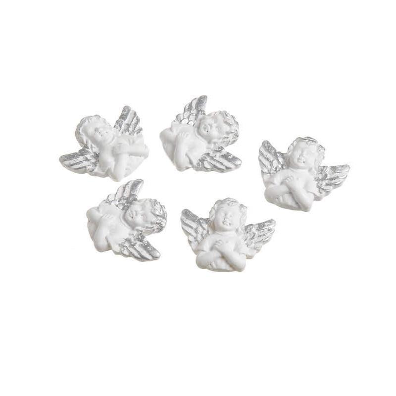 Anielskie główki z przylepcem 10szt..3,2 cm