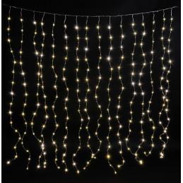 Lampki LED kurtyna 256L, 2 m +16-1,6 m +1,8 m zasilania