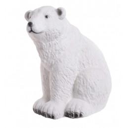 Miś polarny siedzący 40 cm - art. dekoracyjny