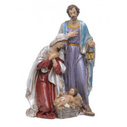 Święta rodzina 31cm - wyrób ceramiczny