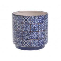 Osłonka mozaika 13x12cm  - wyrób ceramiczny