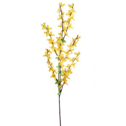 Forsycja  gałązka  6szt-pęczek  60cm - sztuczna roślina