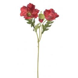 Mak 2+1 56cm - sztuczna roślina