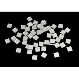 Lusterko kwadrat 1cm 60szt/paczka
