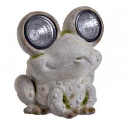 Ozdobna żaba..30 cm oświetlenie LED - zasilanie solarne
