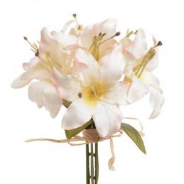 Bukiecik lilii x7... 30 cm