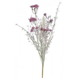 Bukiet z krwawnikiem x7, 52 cm - sztuczna roślina