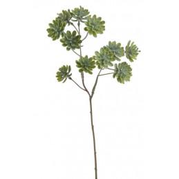 Sukulenty na gałązce 46 cm - sztuczna roślina