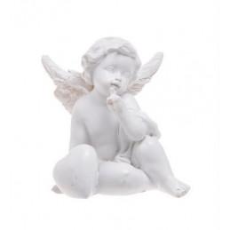 Aniołek z sercem..7,5 cm