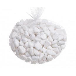 Białe kamienie 1kg..8-12 mm