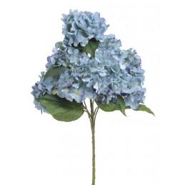 Hortensja krzak, jasne liście 60 cm - sztuczny kwiat