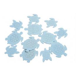 Wykrawanki żółwie 12szt-pacz..5cm, 7cm