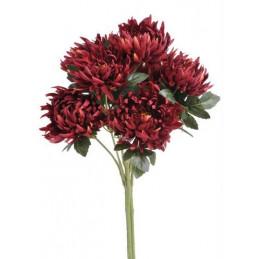 Bukiet chryzantem x7 -sztuczna roślina  55 cm
