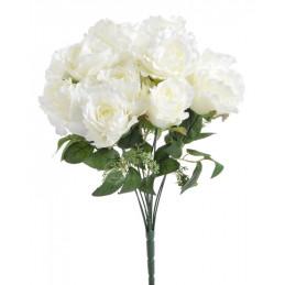 Bukiet róż x10 40 cm -...