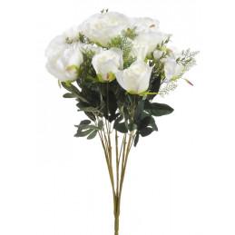 Bukiet róż x 15,  65 cm -...