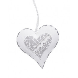 Serce zawieszka 10 cm