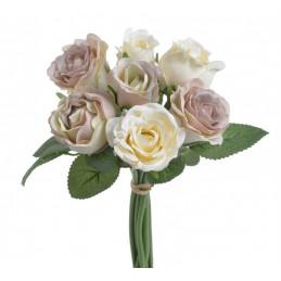 Bukiet róż miks x 7, 25 cm...