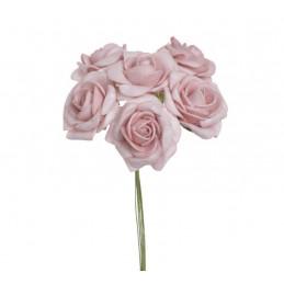 Różyczka piankowa x6..15 cm