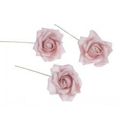 Róża piankowa x8 pik..6cm