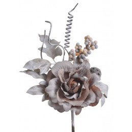 Róża koronkowa pik..25 cm -...