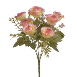 Bukiecik różyczek x7..30 cm...