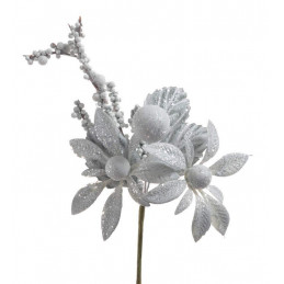 Pik brokacony z kwiatkiem...
