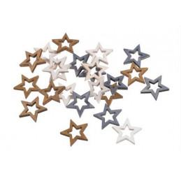Gwiazdki paczka..2cm, 24...