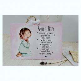 Pamiątka Chrztu ~Aniele...