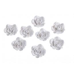 Główka róży 8szt-kpl..2,5cm
