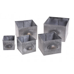 Skrzynki metalowe  5szt/kpl