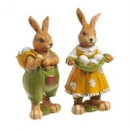 Zajac z jajkami 12,5 cm