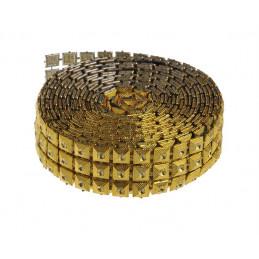 Diamentowy pas 2,5 cm/3m MIX KOL.