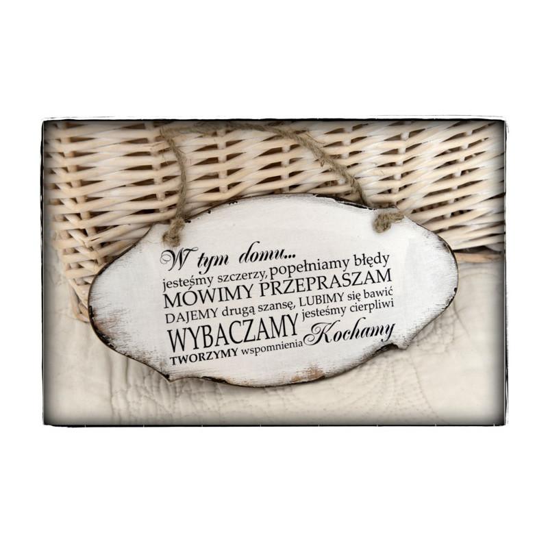 Bardzo dobry Szyld cytat motto tabliczka sentencja dom - MojeDekoRacje.eu RC25