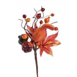 Gałązka jesienna dynie 25 cm