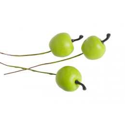Jabłuszka MATOWE pacz 2,5/12cm, pacz/30pcs